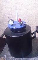 Автоклав черный средний (газ, болты)