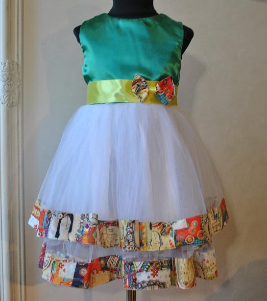 f216de20348 Нарядное платье для девочек Мимоза