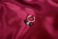 Серебряное кольцо с гранатами, фото 1