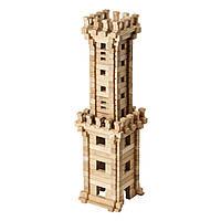 Детский деревянный конструктор Башня (213 деталей Игротеко)