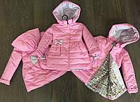 Курточка пальто для девочки весна-осень.