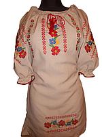 """Вишите плаття для дівчинки """"Мардіс"""" (Вышитое платье для девочки """"Мардис) DU-0009"""
