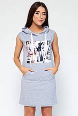 Платье Ксена серое, фото 2