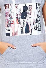 Платье Ксена серое, фото 3