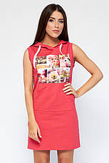 Платье Ксена розовое, фото 2