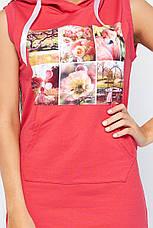 Платье Ксена розовое, фото 3