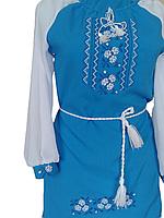 """Вишите плаття для дівчинки """"Нейсі"""" (Вышитое платье для девочки """"Нейси"""") DU-0007"""