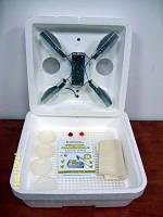 Инкубатор бытовой «Веселое семейство-1» на 80 яиц с ручной регулировкой температуры на лампах