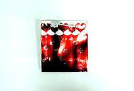 Пакеты из картона 10х11х5,5  Миники (Красный)