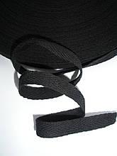Киперная лента черная 10мм, польская