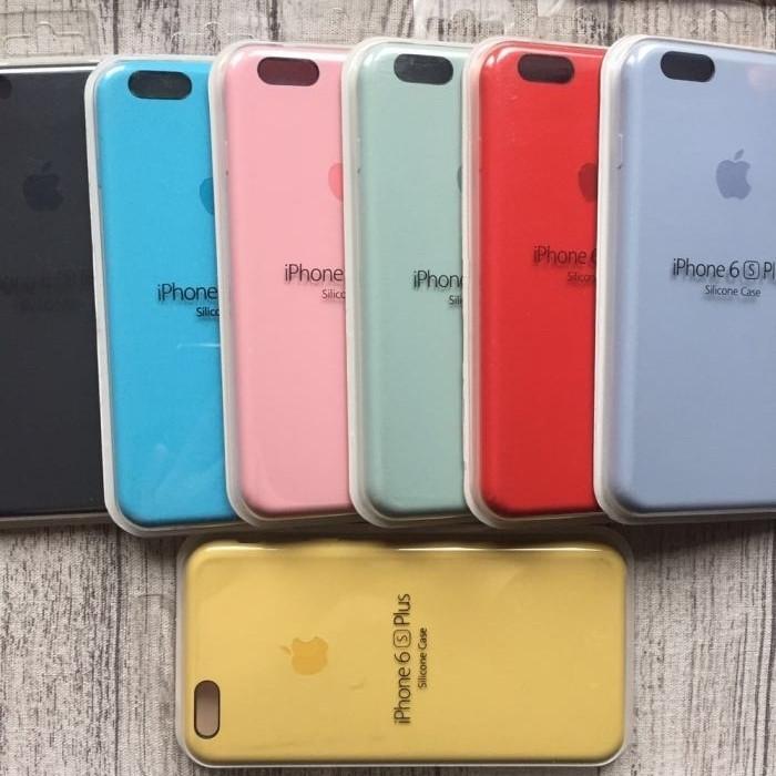 Оригинальный силиконовый чехол на  iPhone 6plus/6splus