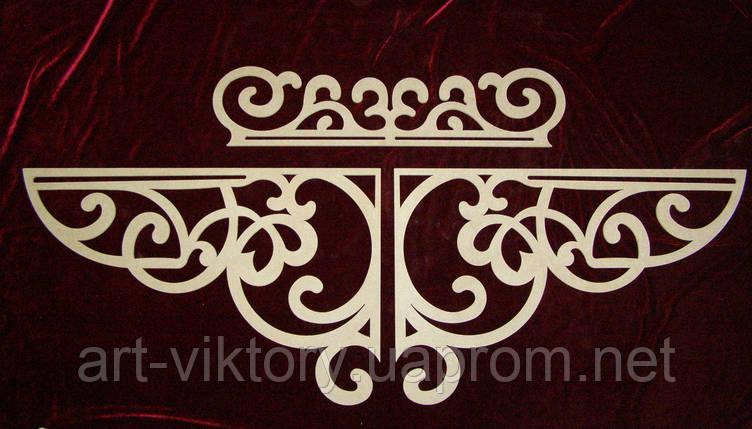 Декор резной  из 3 частей (180 х 40 см), декор, фото 2