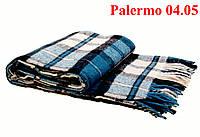 Плед  полуторный 140х200, тм. VLADI, Палермо «Palermo» 04.05 (черн-бир-бел)