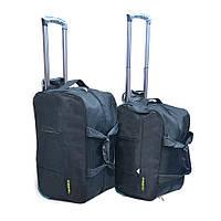 """Комплект из 2х дорожный сумок на колесах с ручкой Xinshengda Серии """" TRAVEL """" 2 цвета"""