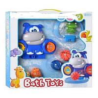 Бегемотик водопад игрушка для ванной XING LONG DA TOYS 8825A