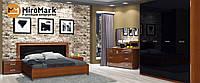 Спальня Белла глянець чорний-вишня бюзум, фото 1