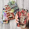 Пластиковый чехол c цветочный рисунок на iPhone 5/5s/SE, фото 2
