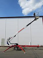 Самоходный прицепной подъемник, АРЕНДА, рабочая высота до 26 м, аренда / продажа