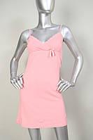Розовая сорочка прекрасного качества без рукав