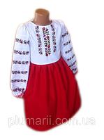 Дитячі вишиті плаття і сарафани