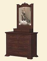 """Практичная деревянная мебель для спальни. Трюмо от мебельной фабрики""""Скиф"""", модель Т-16"""