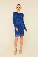 Красивое платье Дэлиа электрик