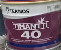 Краска Timantti 40 Тимантти Teknos для влажных помещений, 9л.