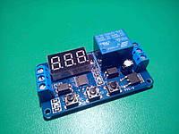 Релейный модуль программируемый многофункциональный, реле времени, таймер задержки, фото 1