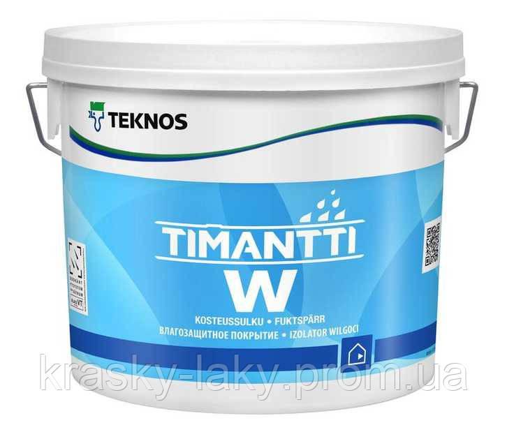 Грунт Timantti W Teknos влагоизолирующий Тимантти, 3л.