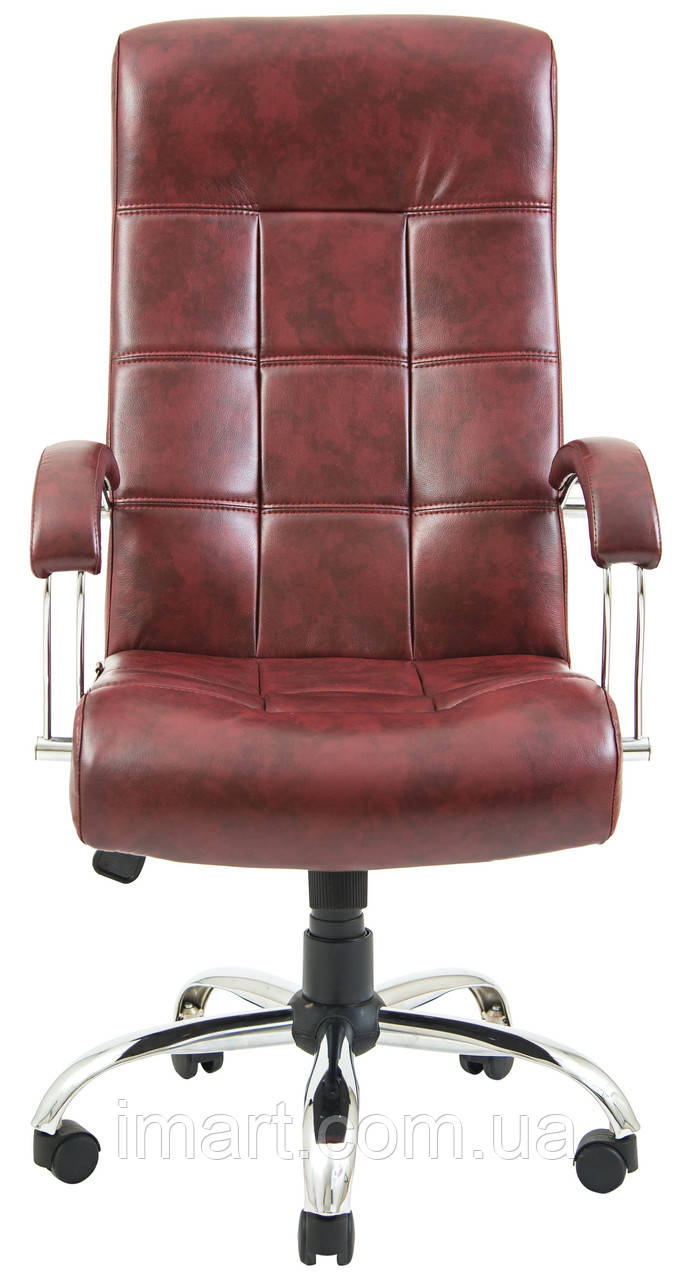 Кресло для руководителя Вирджиния хром к/з Флай/Неаполь, Richman  - купить со скидкой