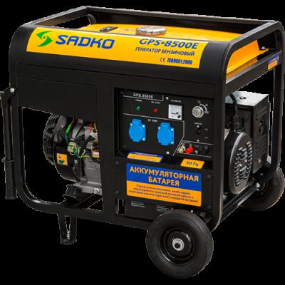 Бензиновый генератор Sadko GPS-8500E, фото 2