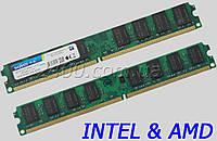 DDR2 2GB INTEL и AMD, универсальная планка памяти для компьютера, KVR800D2N6/2Гб 800 MHz ОЗУ ДДР2 2Гб