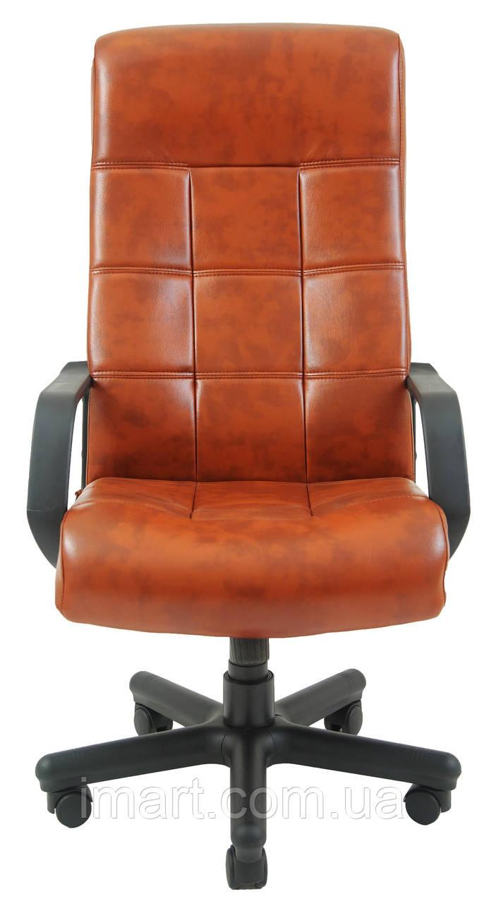 Купить Кресло для руководителя Вирджиния пластик к/з Флай/Неаполь, Richman