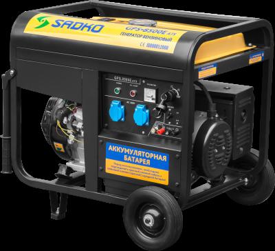 Бензиновый генератор Sadko GPS-8500E ATS, фото 2