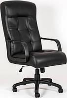 Кресло для руководителя Вирджиния пластик Кожа-Люкс  комбинированная