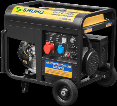 Бензиновый генератор Sadko GPS-8500EF, фото 2