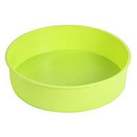 Форма для выпечки силиконовая круглая торт  22,5 см