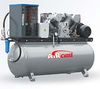 Компрессор Aircast с горизонтальным ресивером и осушителем воздуха холодильного типа СБ4/Ф-500.LB50Д