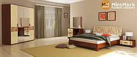 Спальня Терра ваніль-вишня бюзум, фото 1