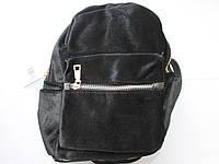 Рюкзак велюровый, фото 1