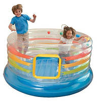 Детский батут Intex Jump-O-Lene Transparent Ring Bounce. 48264