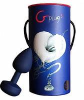 Большая дизайнерская анальная пробка с вибрацией Gplug (Fun Toys)