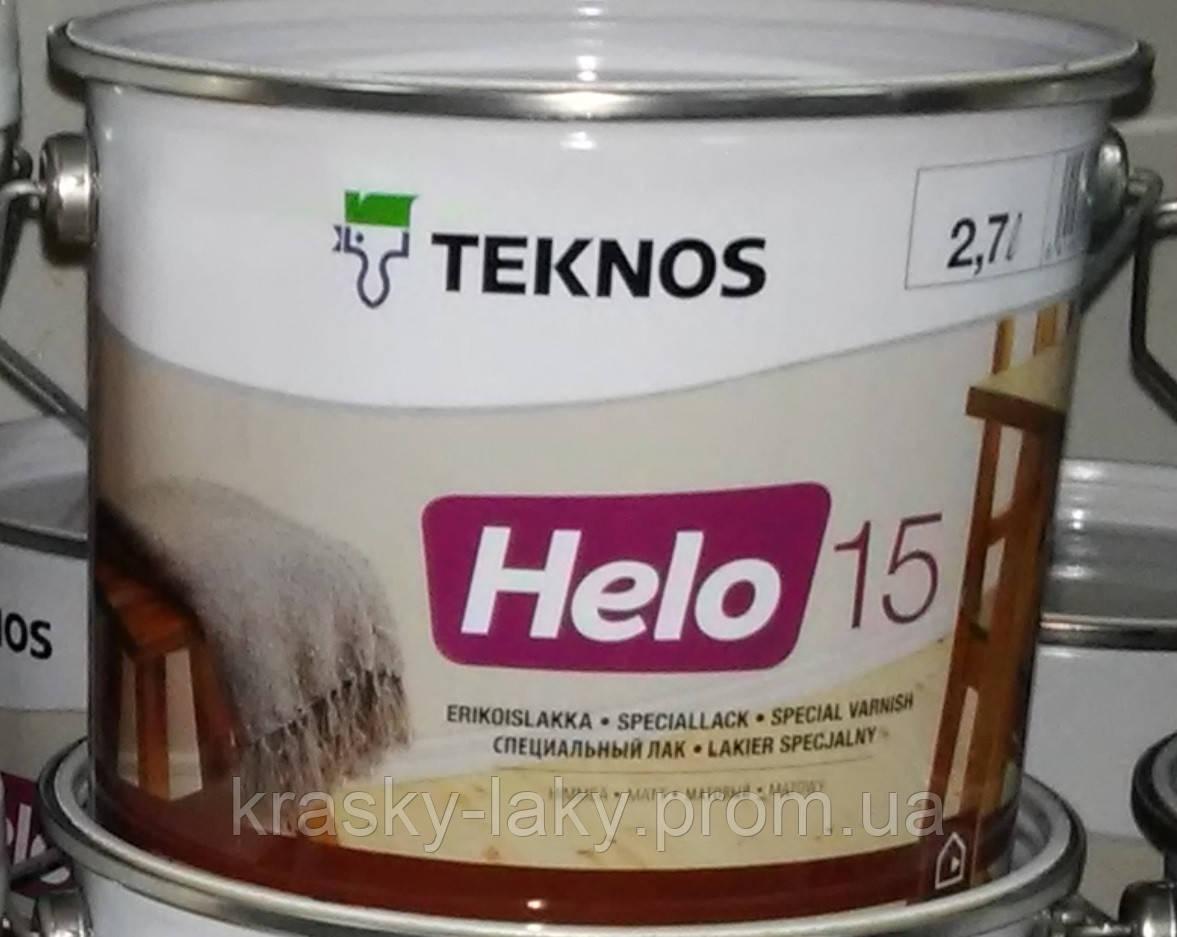 Лак HELO 15 40 90 TEKNOS уретано-алкидный
