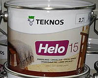 Лак HELO 15 40 90 TEKNOS уретано-алкидный, фото 1