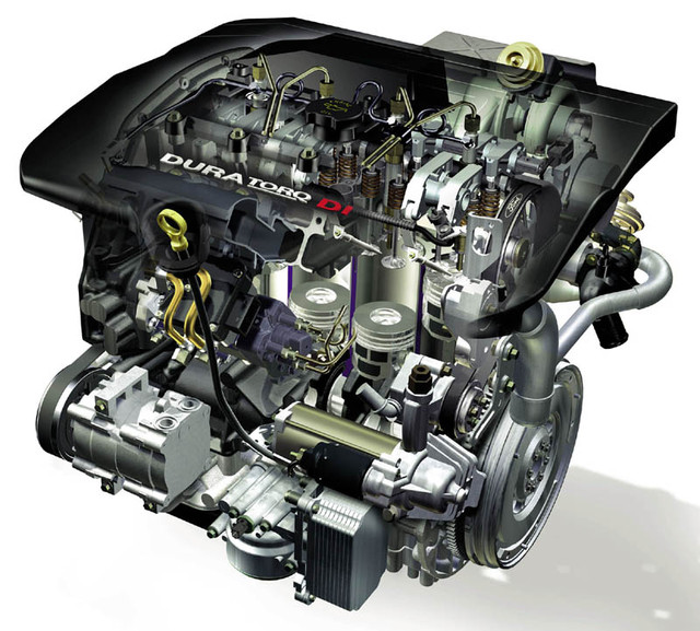 Двигатель-ltnfkb Ford Transit 00-06