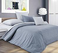 Евро комплект постельного белья из перкали Горный ветер