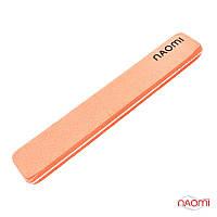 Шлифовщик для ногтей Naomi 180/180 (оранжевый)