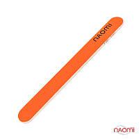 Пилка для ногтей Naomi 180/180 (оранжевая)