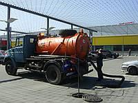 Ассенизаторская машина услуги Киев.