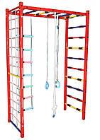 Детский спортивный комплекс П-шка металлический (с навесным оборудованием) 202/мп